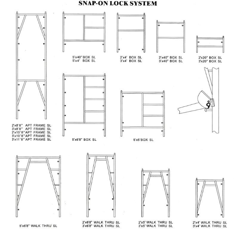 Snap On Scaffolding : Frames from younger scaffold supplies llc