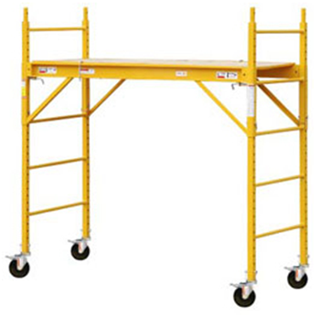 interior rolling scaffold from younger scaffold supplies